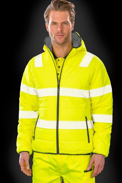 SAFE-GUARD RECYCLED RIPSTOP PADDED SAFETY JACKET