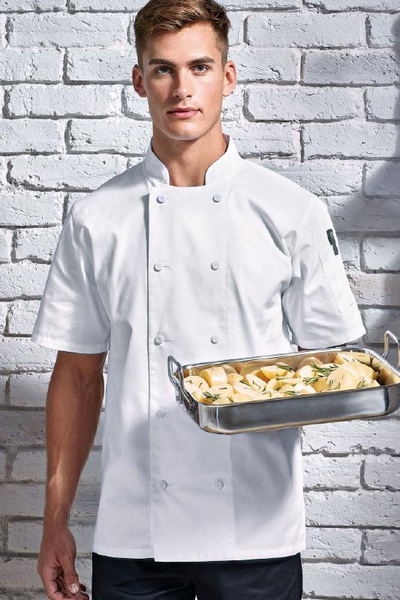 CHEF'S COOLCHECKER® SHORT SLEEVE JACKET